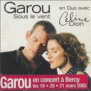 Celine Dion Sous Le Vent France CD single