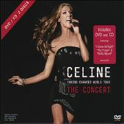 Celine Dion Taking Chances World Tour - The Concert UK 2-disc CD/DVD set