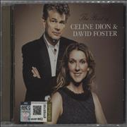 Celine Dion The Best Of Celine Dion & David Foster USA CD album