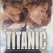 Celine Dion Titanic: Music from the Motion Picture UK CD album