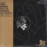 "Chad Jackson Hear The Drummer [Get Wicked] UK 12"" vinyl"
