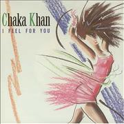 Click here for more info about 'Rufus & Chaka Khan - I Feel For You - p/s'