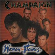 Click here for more info about 'Champaign - Woman In Flames'