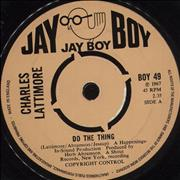 Click here for more info about 'Charles Lattimore - Do The Thing'