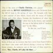 Click here for more info about 'Charlie Christian - With The Benny Goodman Sextet And Orchestra - VG'