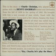 Click here for more info about 'Charlie Christian - With The Benny Goodman Sextet And Orchestra'