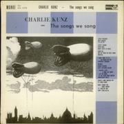 Click here for more info about 'Charlie Kunz - The Songs We Sang'