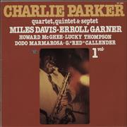 Click here for more info about 'Charlie Parker - Charlie Parker Quartet, Quintet, Septet, Volume 1'