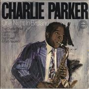 Charlie Parker One Night In Birdland - gold stamp UK 2-LP vinyl set