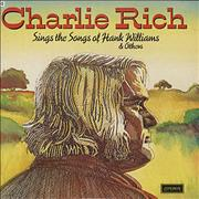 Click here for more info about 'Charlie Rich - Sings The Songs Of Hank Williams & Others'