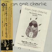Click here for more info about 'Charlie Watts - From One Charlie + Concert Leaflet'