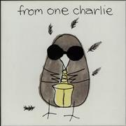 Charlie Watts From One Charlie + Press Pack/Invitation UK cd album box set