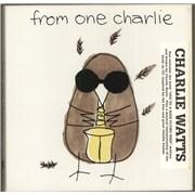 Charlie Watts From One Charlie USA cd album box set