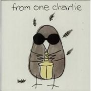 "Charlie Watts From One Charlie UK 10"" vinyl"