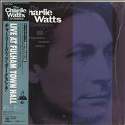 Charlie Watts Live At Fulham Town Hall Japan vinyl LP