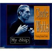 Charlie Watts My Ship UK CD single