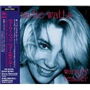 Charlie Watts Warm & Tender Japan CD album Promo