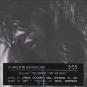 Click here for more info about 'Charlotte Gainsbourg - 5:55 - Five Fifty Five'