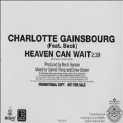 Click here for more info about 'Charlotte Gainsbourg - Heaven Can Wait'