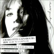 Click here for more info about 'Charlotte Gainsbourg - IRM Album Sampler'