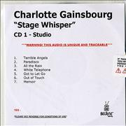 Click here for more info about 'Charlotte Gainsbourg - Stage Whisper'