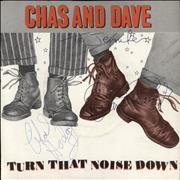 Click here for more info about 'Chas & Dave - Turn That Noise Down - Autographed'