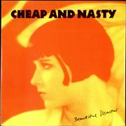 Click here for more info about 'Cheap And Nasty - Beautiful Disaster EP - Orange Vinyl'