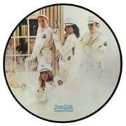 Cheap Trick Dream Police + Lyric Insert UK picture disc LP
