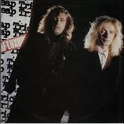 Click here for more info about 'Cheap Trick - Lap Of Luxury - Gold promo stamped'