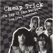 Cheap Trick On Top Of The World - 1978 Live Broadcast - Yellow vinyl UK 2-LP vinyl set