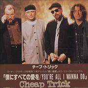 Click here for more info about 'Cheap Trick - You're All I Wanna Do'