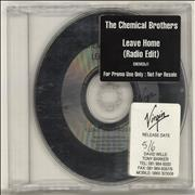 Click here for more info about 'Chemical Brothers - Leave Home'