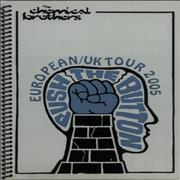 Click here for more info about 'Chemical Brothers - Push The Button - European/UK Tour 2005'