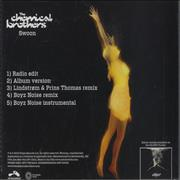 Click here for more info about 'Chemical Brothers - Swoon'