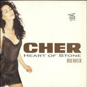 Click here for more info about 'Cher - Heart Of Stone + Poster'