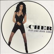 Click here for more info about 'Cher - Just Like Jesse James - EX'