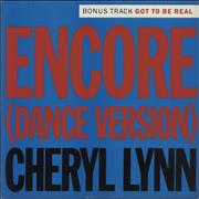 Click here for more info about 'Cheryl Lynn - Encore'