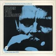 Chet Baker Blues For A Reason Netherlands vinyl LP