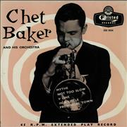 Click here for more info about 'Chet Baker - Chet Baker And His Orchestra EP'
