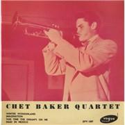 Click here for more info about 'Chet Baker - Chet Baker Quartet EP'