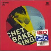 Chet Baker Chet Baker Sings - Sealed UK picture disc LP