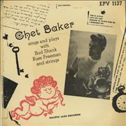 Click here for more info about 'Chet Baker - Chet Baker Sings And Plays EP'