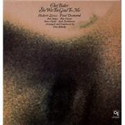 Chet Baker She Was Too Good To Me USA vinyl LP