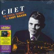 Chet Baker The Lyrical Trumpet Of Chet Baker - 180gm Orange Vinyl - Sealed UK vinyl LP