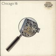Chicago Chicago 16 - Stickered Sleeve UK vinyl LP