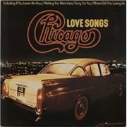 Chicago Love Songs UK vinyl LP
