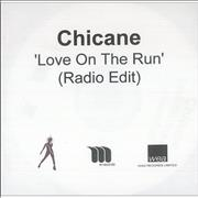 Click here for more info about 'Chicane - Love On The Run (Radio Edit)'