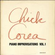 Click here for more info about 'Chick Corea - Piano Improvisations Vol. 1'