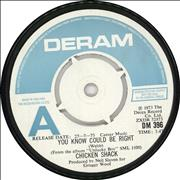 Click here for more info about 'Chicken Shack - You Know Could Be Right - A Label'