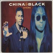 Click here for more info about 'China Black - Stars'